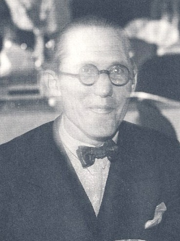 Charles-Édouard Jeanneret-Gris in 1933, better known as Le Corbusier