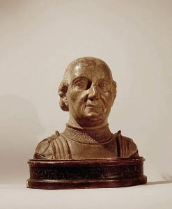 "Antonio di Pietro Averlino also ""Averulino"", known as Filarete (from φιλάρετος, Greek for ""lover of excellence""),"